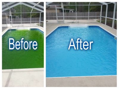Green Pool Cleanups